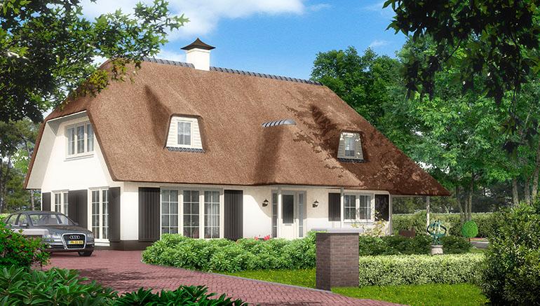 Bouwstijlen: Landelijke bouwstijl, moderne bouwstijl, jaren 30 bouwstijl, klassieke bouwstijl,