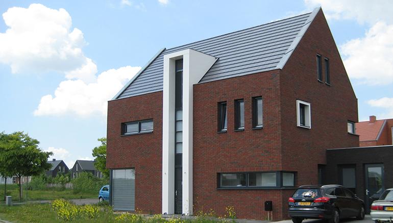 Eigentijdse woning met bijzondere details.