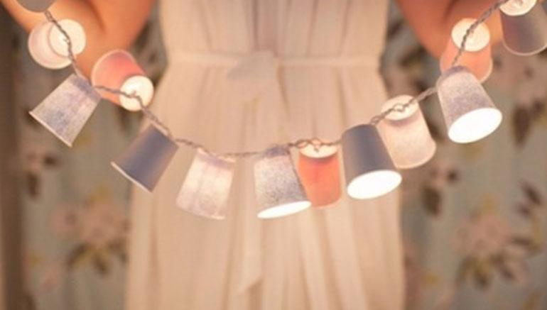 Lampionnenslinger DIY