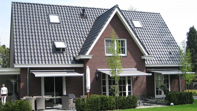 Jaren 30 bouwstijl rossige gevelsteen