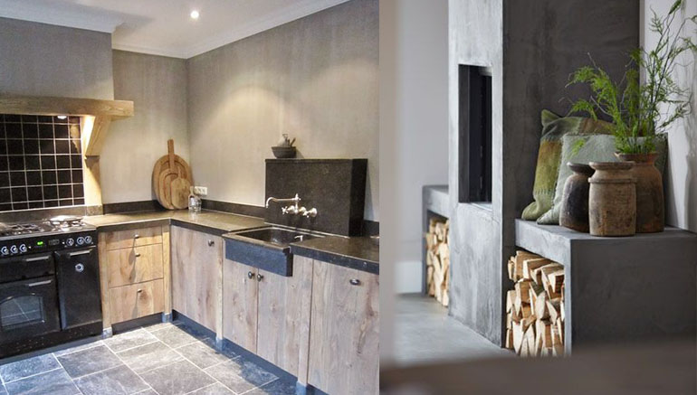 Modern landelijk interieur home design idee n en for De appelboom interieur