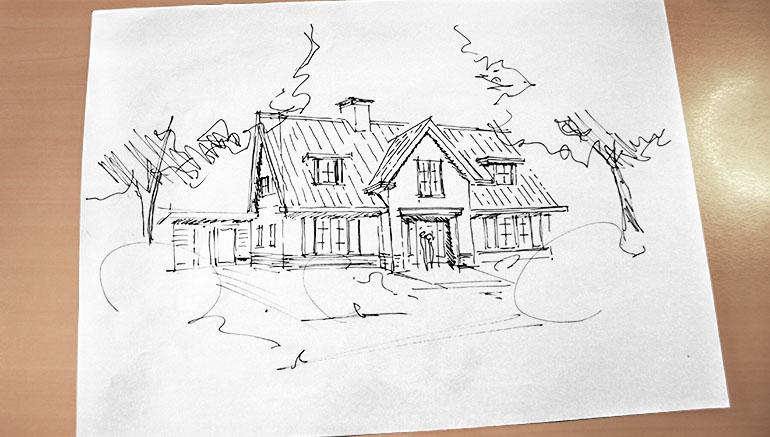 de start het ontwerp van je woning huis bouwen
