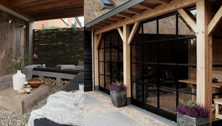 Tuin Veranda Maken : Veranda: sfeer in de tuin u2022 huis bouwen