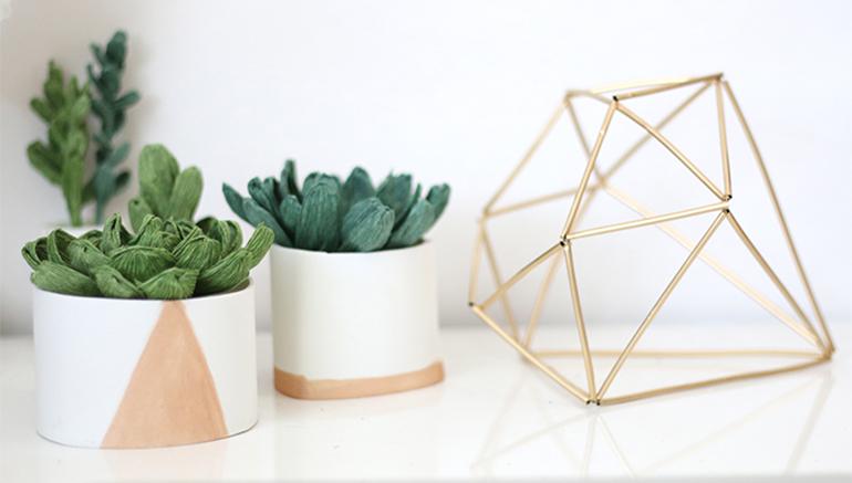 DIY eyecatcher geometrische vormen