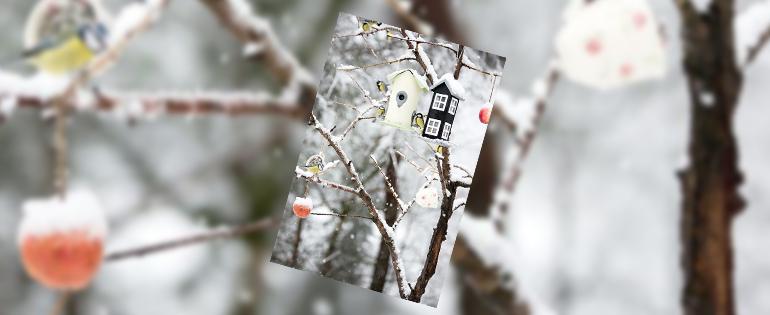 Lente-in-de-tuin-sneeuw-vogels