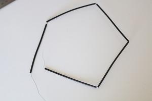 DIY geometrische eyecatcher