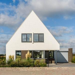 In welke stijl bouw jij jouw huis huis bouwen - Gevel eigentijds huis ...