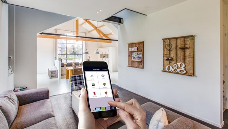 domotica, huisautomatisering, huisautomatiseringssysteem