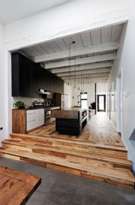 open woonruimte, loft, open vloerplan, woonkeuken, leefkeuken