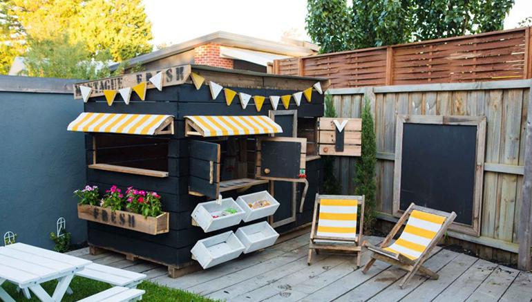 speelhuis, boomhut, kinderen, tuin kindertuin, kindvriendelijke tuin, tuinontwerp